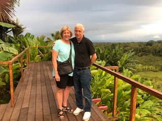 Enjoying visit to Costa Rica