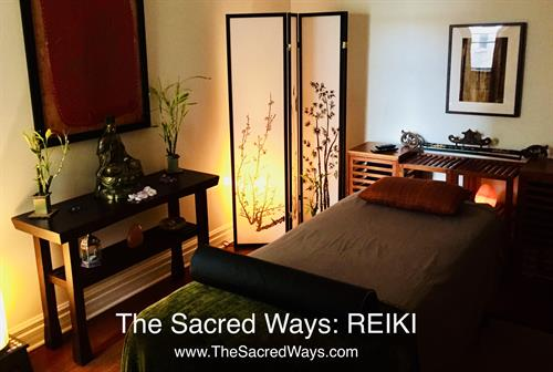 Reiki Treatment Room