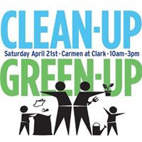 Annual Clean-Up Green-Up event!