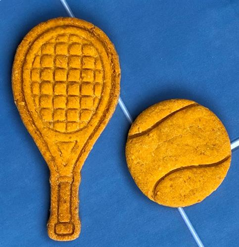 Rafa's Rackets: sweet potato, unsalted peanuts, gluten-free oats, & organic brown rice flour