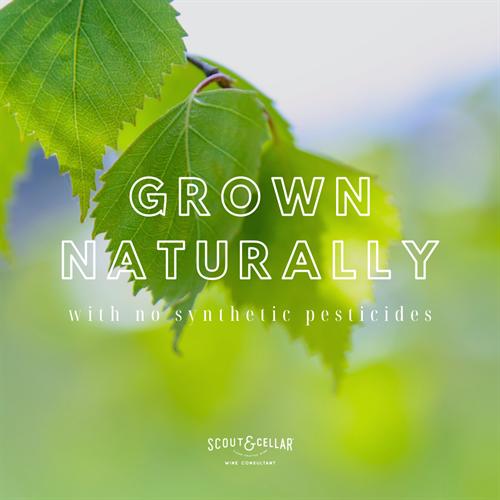 Grown naturally.