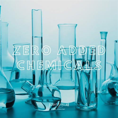Zero added chemicals.