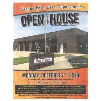 Fergus Falls Fire Dept Open House