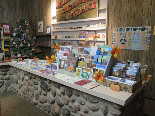 Gift Shop - Great Selection of Books and Cards