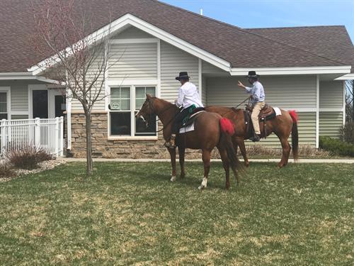 Horseback Visitors