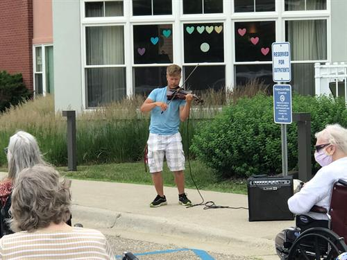 Residents Enjoyed Outdoor Concerts During Pandemic