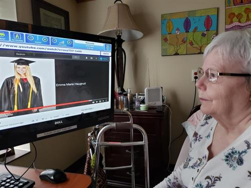 Technology Helps Connect Residents to Loved Ones