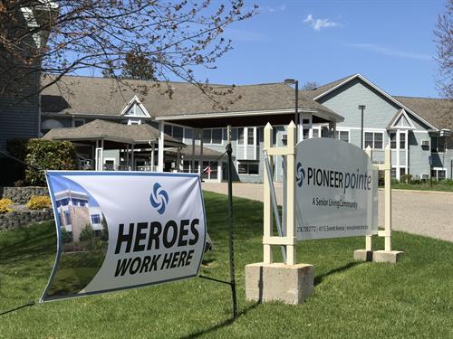 Heroes Work at Pioneer Pointe!