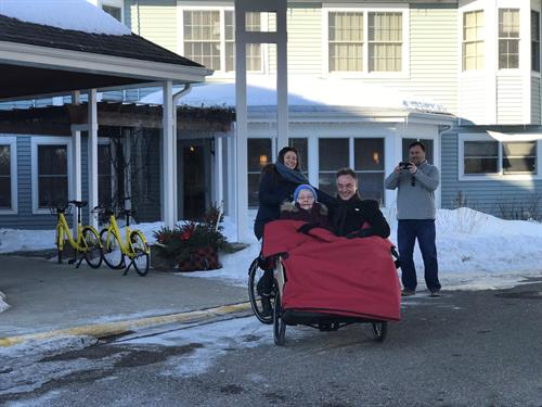 Ruth Tries a Winter Ride with Cycling Without Age