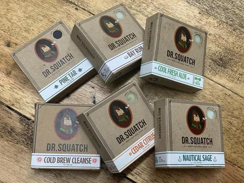 dr squatch.