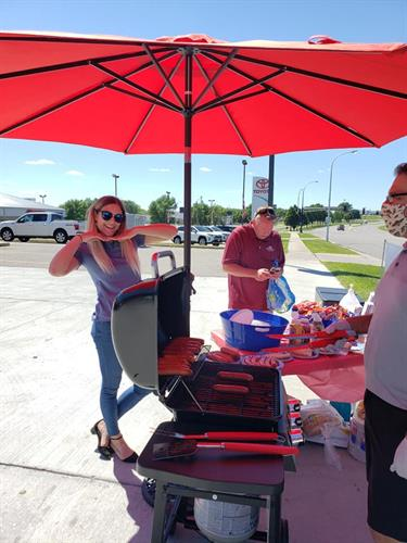 Farmers & Franks Event - District Office Grilling
