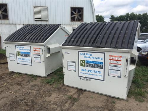 Film Plastic Recycling Program for ag plastic and boat wrap