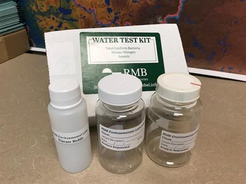 Water test kits in Land & Resource