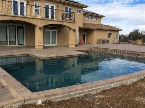 New pool built by Weiser Pools, Inc.