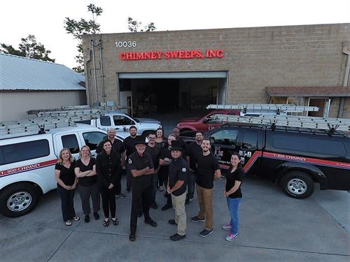 The Chimney Sweeps, Inc Crew