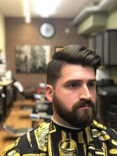 Gentlemen Haircuts at Patsy`s Barber Shoppe on La Salle Rd