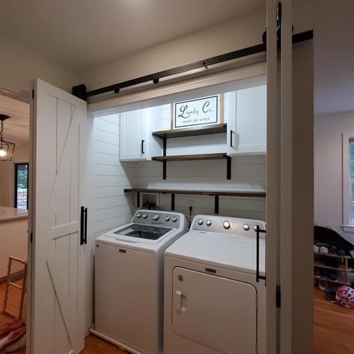 Custom Laundry Space Design