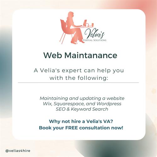 Web Design & Maintenance