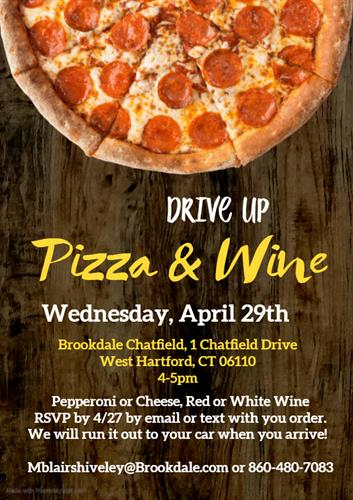 Drive Up Pizza And Wine Apr 29 2020 West Hartford Chamber Of