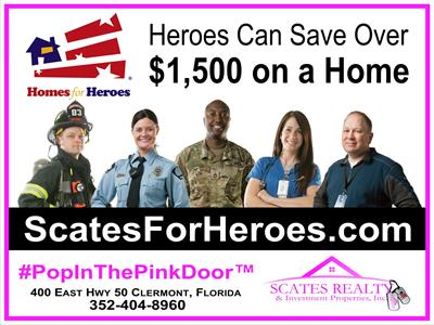 Homes For Heroes Scates Realty We Guarantee The Most Hero