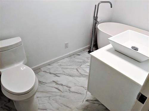Duncan Mills, CA - Bathroom Remodel - Completed Project Photo