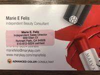 Mary Kay Cosmetics - Marie Felis - Rohnert Park