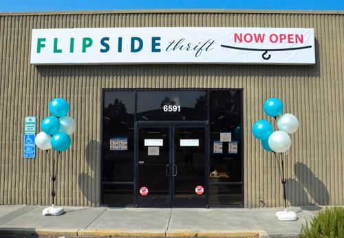 Come visit the newest thrfit store in Rohnert Park - Flip Side Thrift