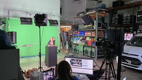 Full production studio for your live streams!