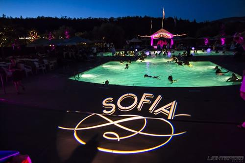 We can provide custom gobo/monogram lighting for your next event!