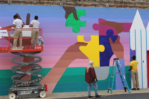Mural of Hope in Newport, KY