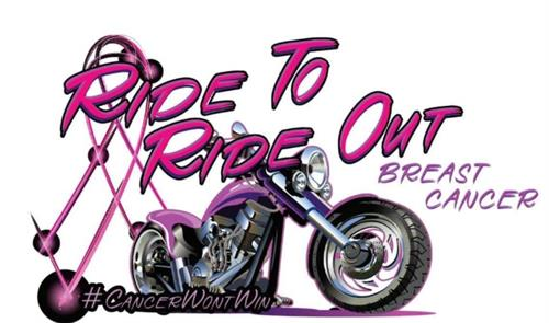 Ride to Ride Out Breast Cancer - raises money for those in our community battling cancer. In 2018, we partnered with Shirley's Way to continue to help our community.