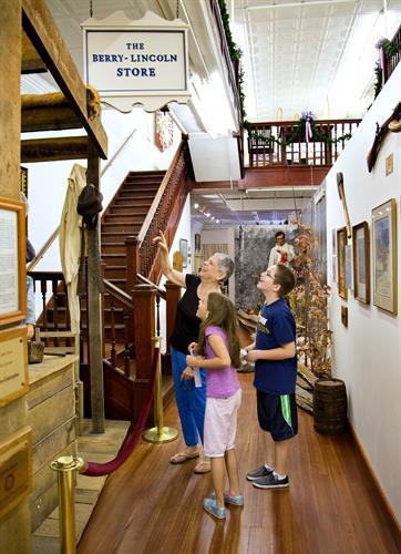 Family-friendly exhibits