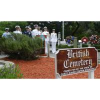 British Cemetery Ceremony