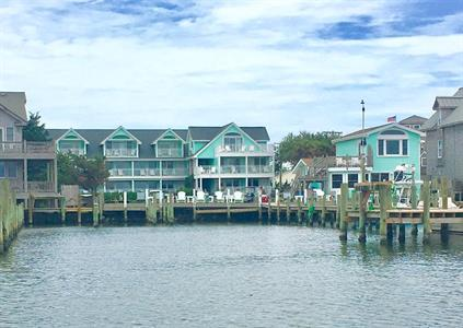 view of OHI from the water