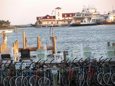 We offer bike rentals for your convenience..