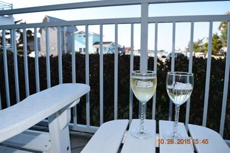 Relax and unwind on one of our balconies