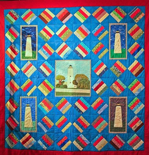 2018 Quilt from our Needle and Thread Club