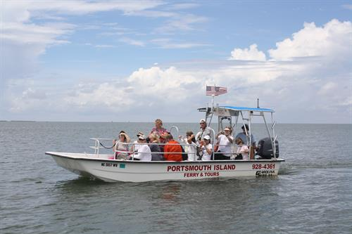 Portsmouth Island Boat Tours