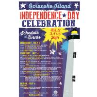 Ocracoke Island to Host Annual Fourth of July Celebration and Fireworks Spectacular, July 3, 4 & 5