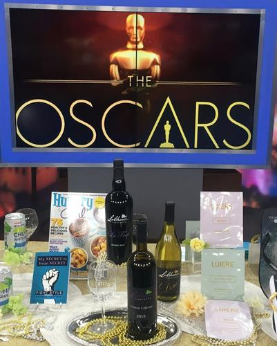 We were featured in one of the Oscars goodie bags given to the celebrities up for an Oscar.