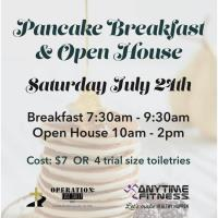 Charity Pancake Breakfast and Open House