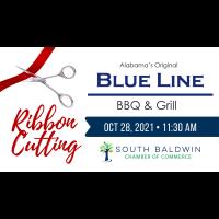 Alabama's Original Blue Line BBQ & Grill- Ribbon cutting