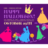 Trick-or-Treat with Princesses & a Prince!