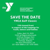 SAVE THE DATE 10th Annual YMCA Golf Classic