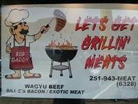 Let's Get Grillin Meats / Forrest and Jenny's Yard Art