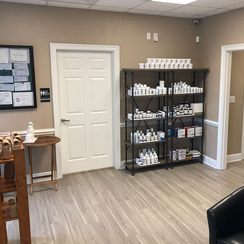 We have vitamins and supplements along with our generic medications and compounds.
