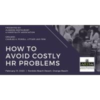 HOW TO AVOID COSTLY HR PROBLEMS