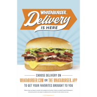 Your Whataburger favorites - from your fingertips, directly to your doorstep