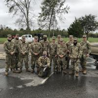 Foley Pairs With National Guard in Wake of Hurricane
