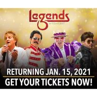 LEGENDS IN CONCERT ANNOUNCES WINTER  AND SPRING 2021 LINE-UP!